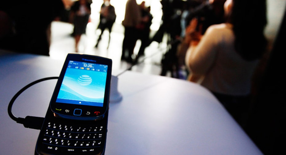 BlackBerry Torch 9800 at Launch Event