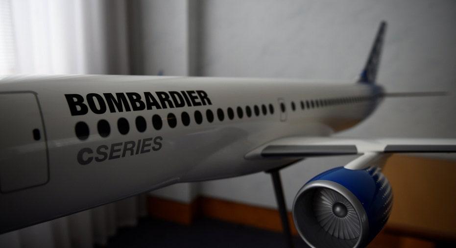 Bombardier C Series Jet RTR FBN