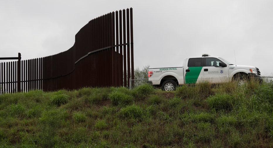 Border Patrol Truck and Fence AP FBN