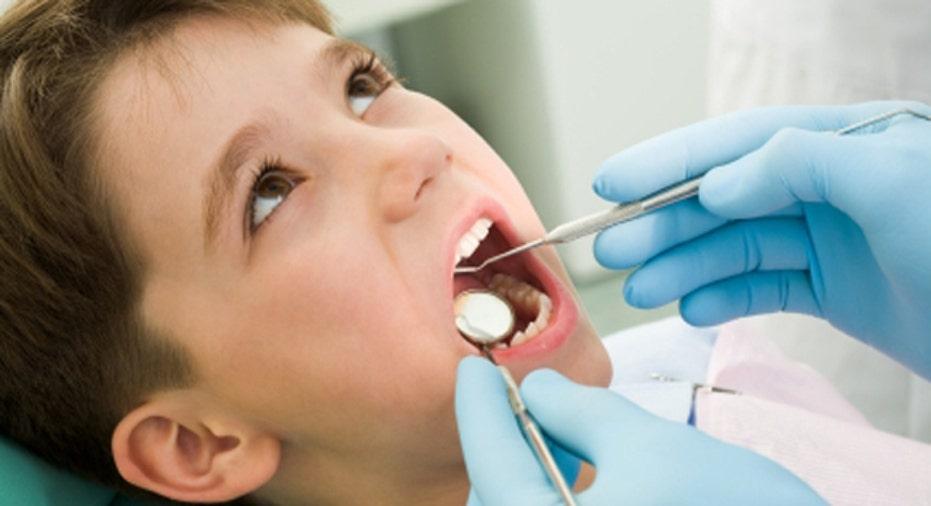 Boy dentist
