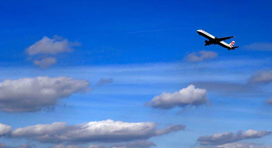 British Airways Taking Off