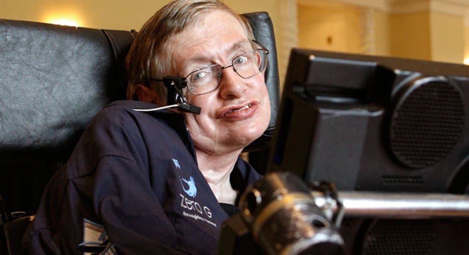 British Physicist Stephen Hawking