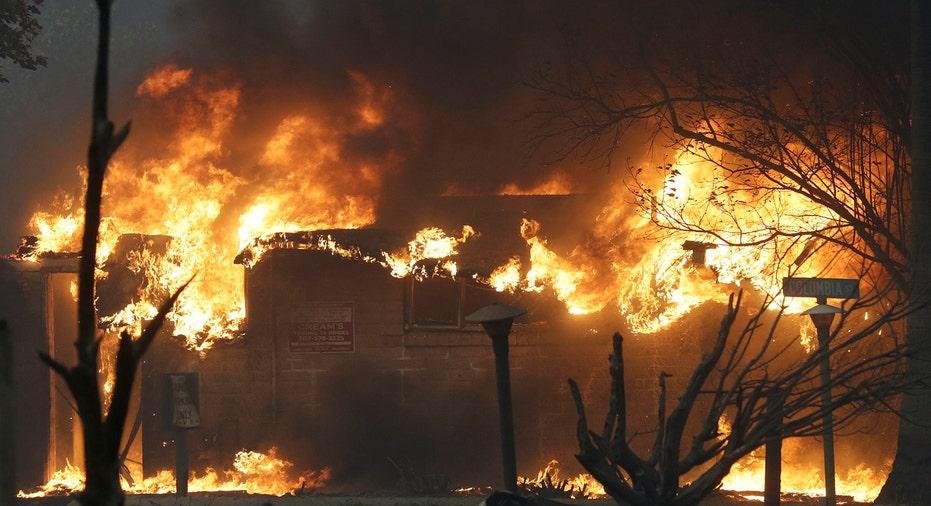 California Wildfire AP FBN