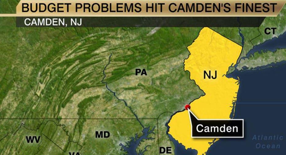 Camden, NJ Map