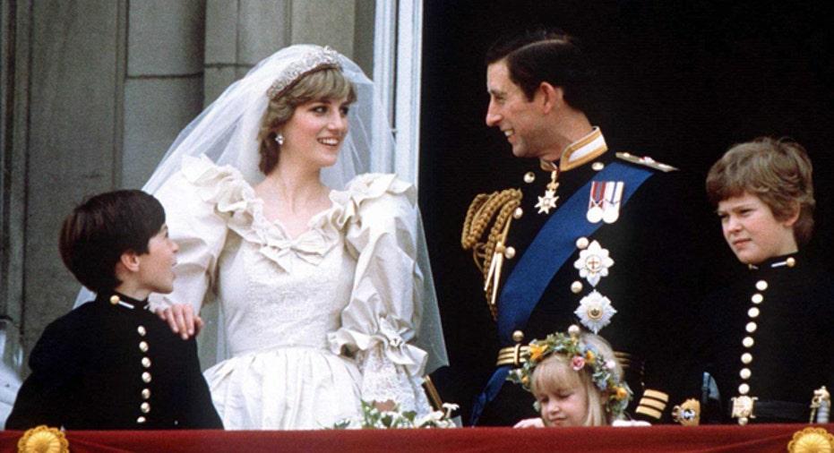File Photo of Princess Diana & Prince Charles Wedding Reuters