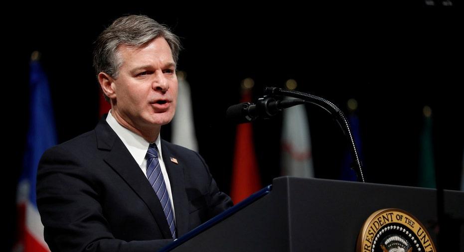 Christopher Wray FBI Director RTR FBN