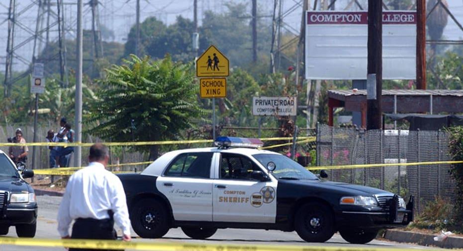 Compton Crime Scene