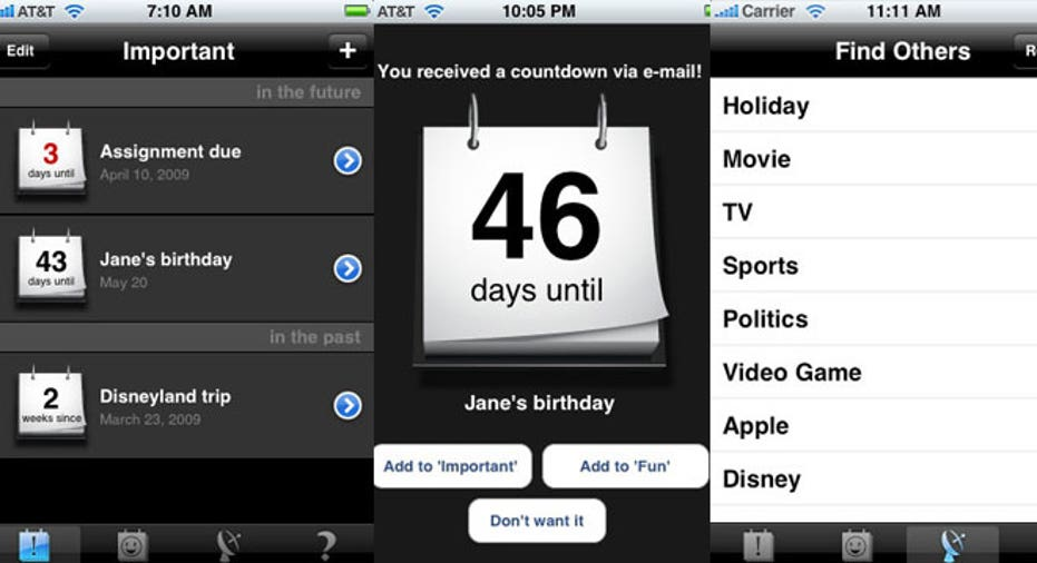 Countdown-Calendar App