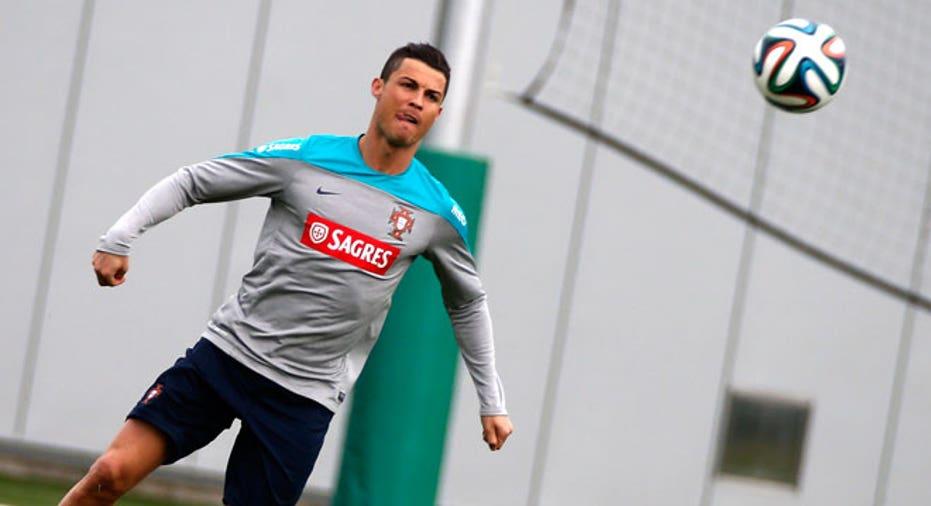 Cristiano Ronaldo portugal world cup soccer