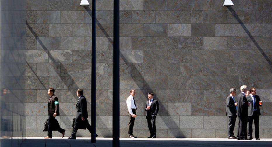 Front of the Deutsche Bank Headquaters in Frankfurt Reuters