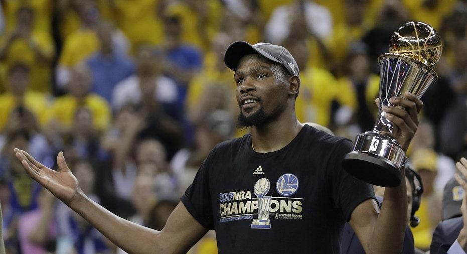 Kevin Durant NBA Finals