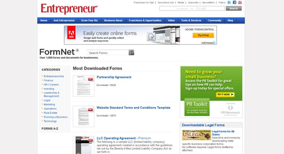 Entrepreneur-FormNet, SBC Slideshow