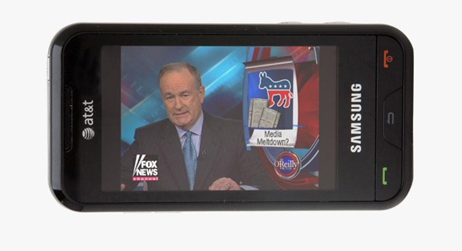 FLO-TV on a Samsung Eternity