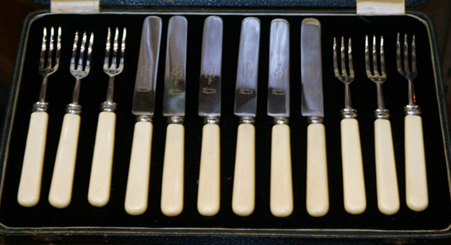 Fancy flatware