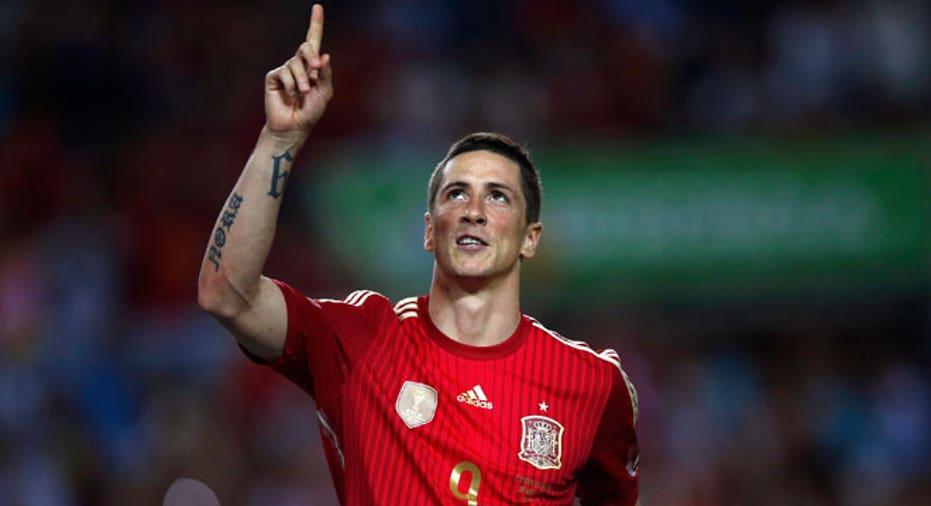 Fernando Torres Spain world cup soccer