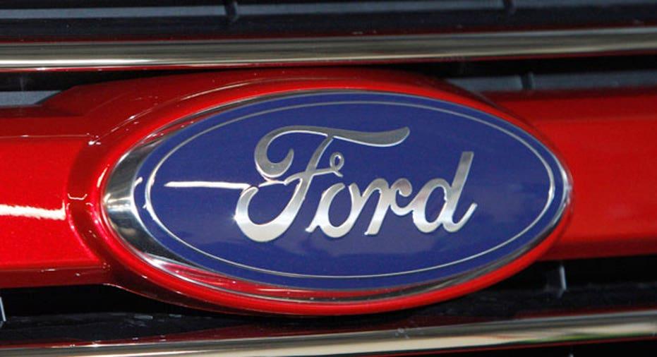 Ford Logo on Ford Explorer