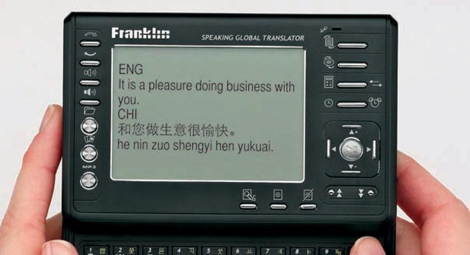 Franklin TGA-490 Global Translator