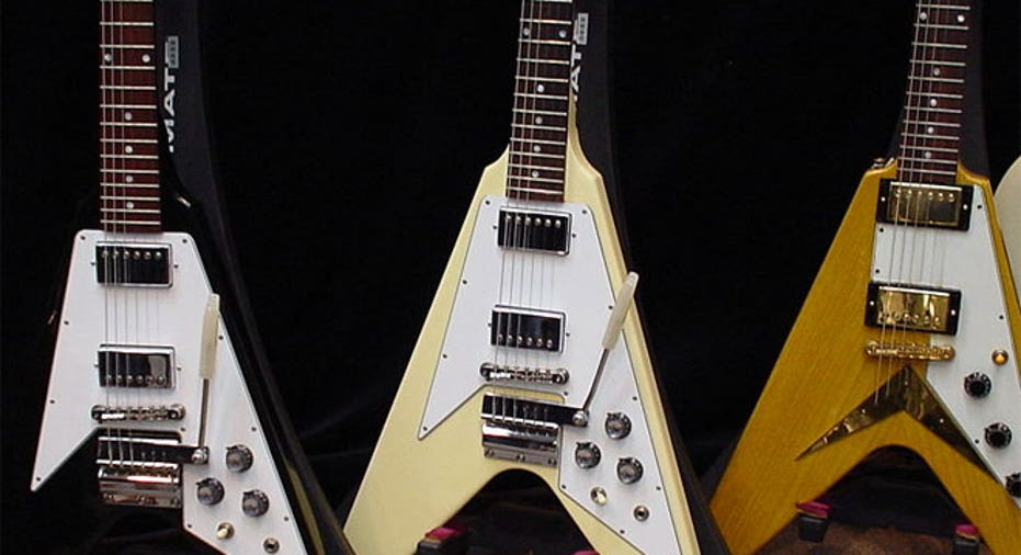 Gibson Flying V, PF Slideshow