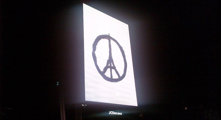 Makeshift Memorial Near Bataclan Theatre, Paris, 4