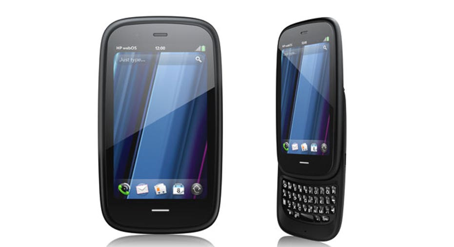 HP Palm Pre 3 Front and Side