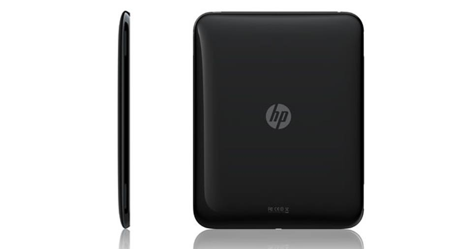 HP Palm TouchPad Back Side