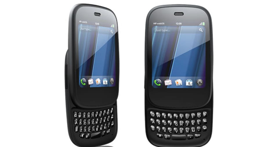 HP Palm Veer Front and Side