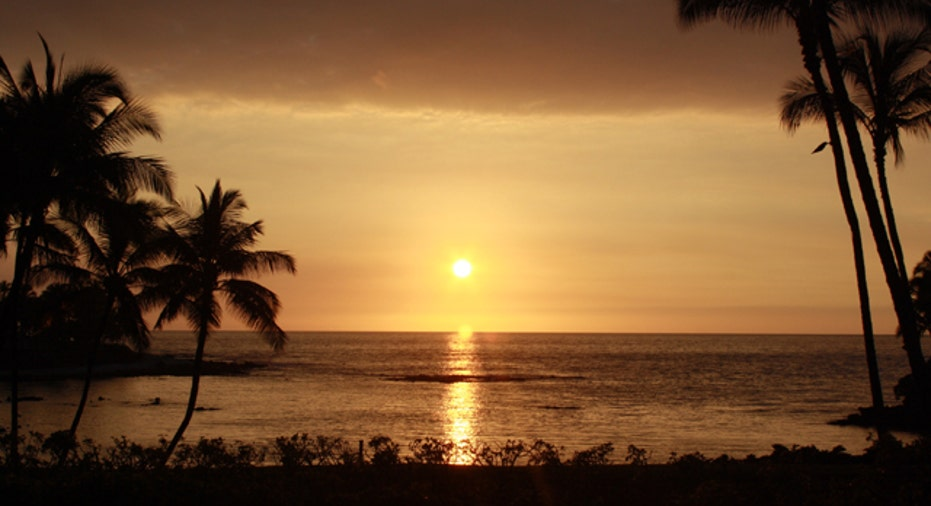 Hawaii Sunset, Kona, slideshow