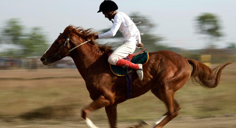 Horse Race, PF slideshow