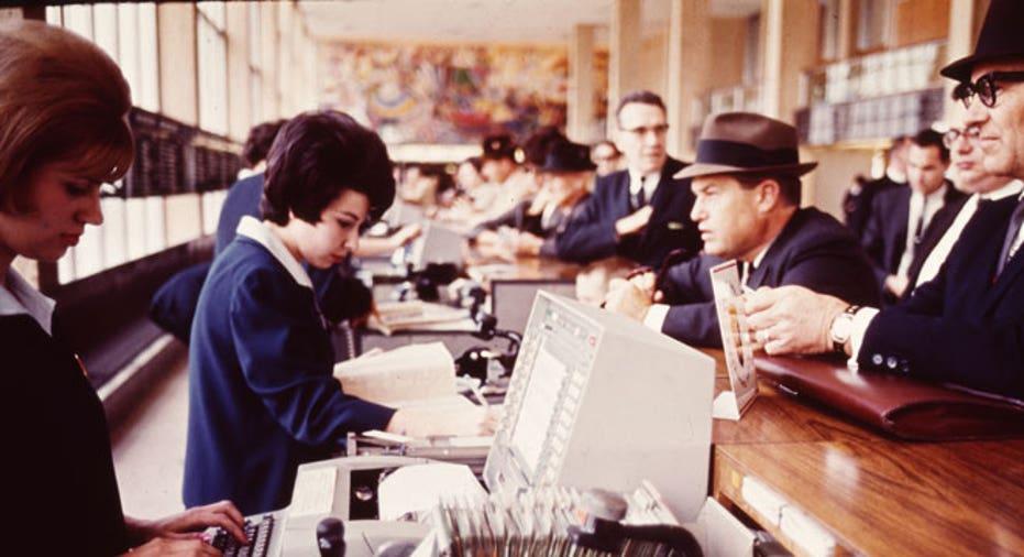 IBM 1962 SABRE Airline Reservations