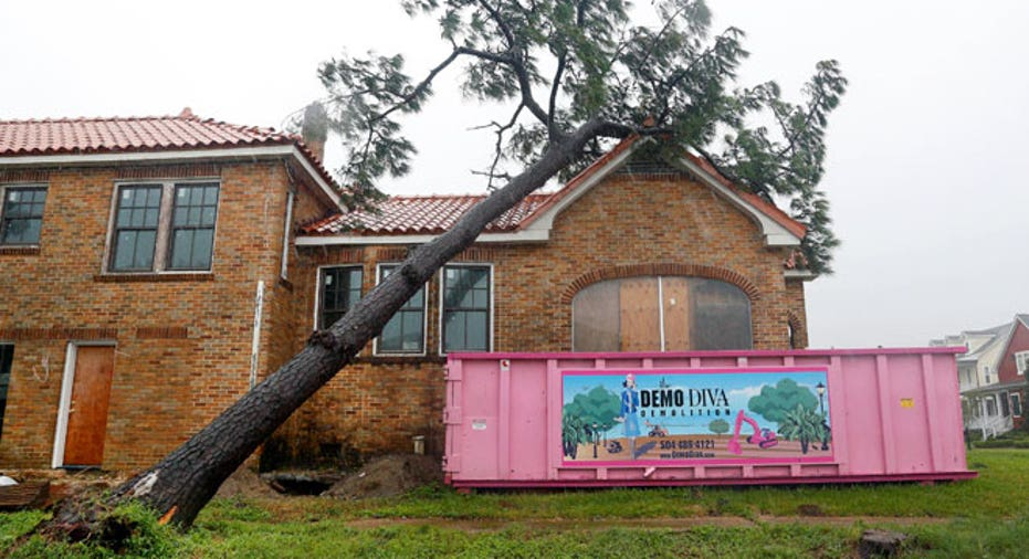 Hurricane Isaac House Tree