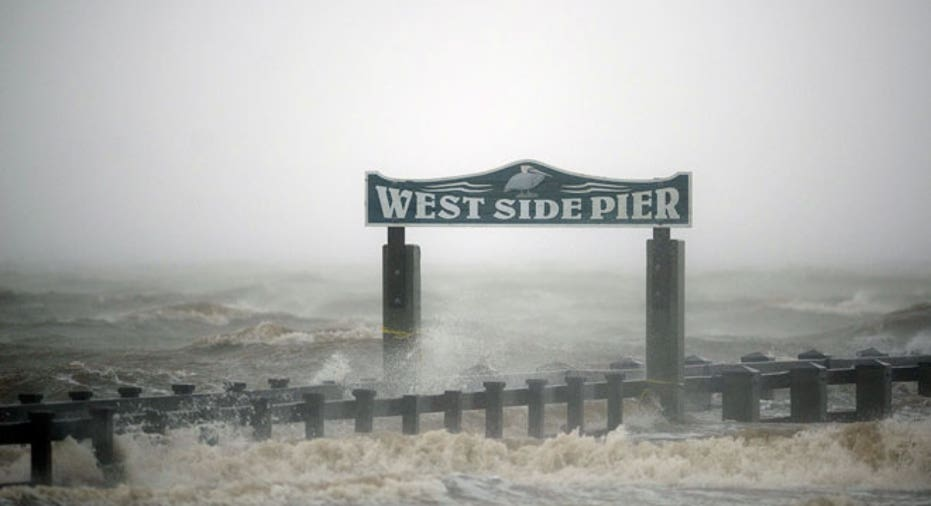 Hurricane Isaac West Side Pier