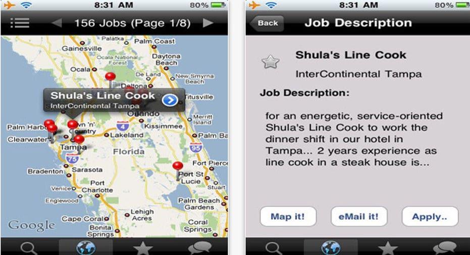 Job Compass, PF Slideshow