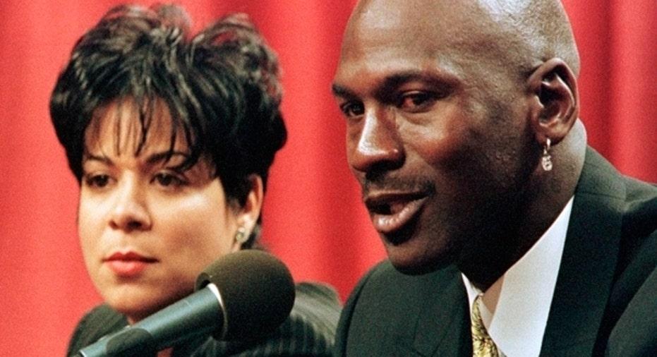 Michael and Juanita Jordan
