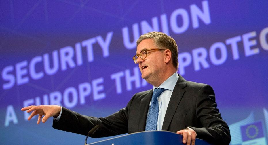 Julian King European Commissioner for Security AP FBN