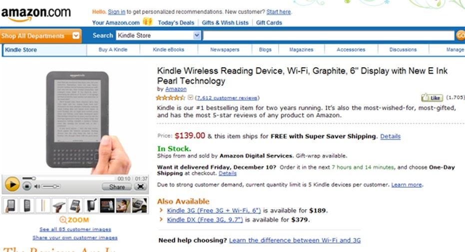 Kindle Amazon, SBC slideshow