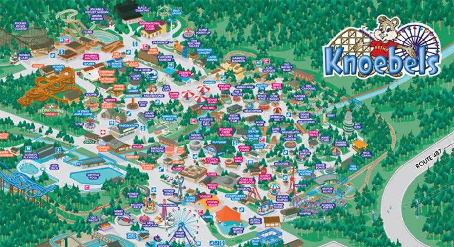 Knoebels_park_map