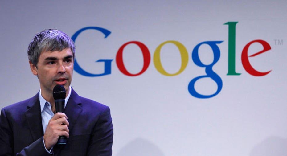 Larry Page, Google, GOOG