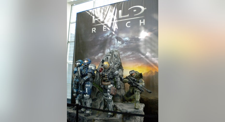Life-Size Halo Game Characters