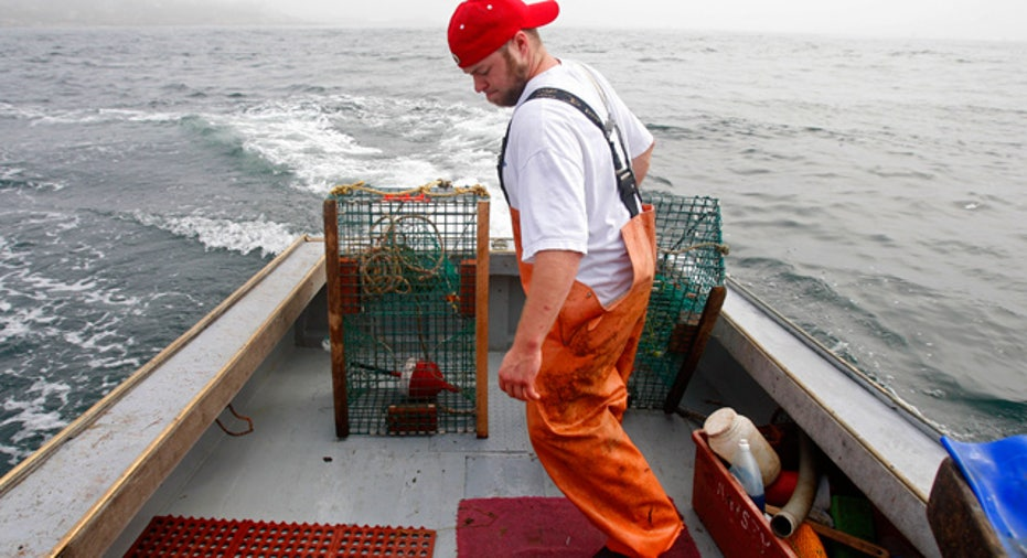 Lobster Fishing in Maine