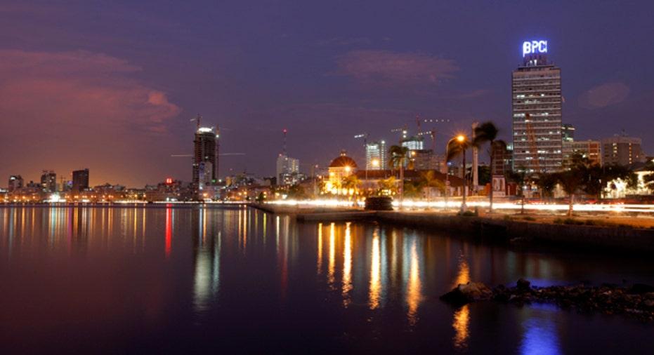 Luanda, Angolan capital, Reuters
