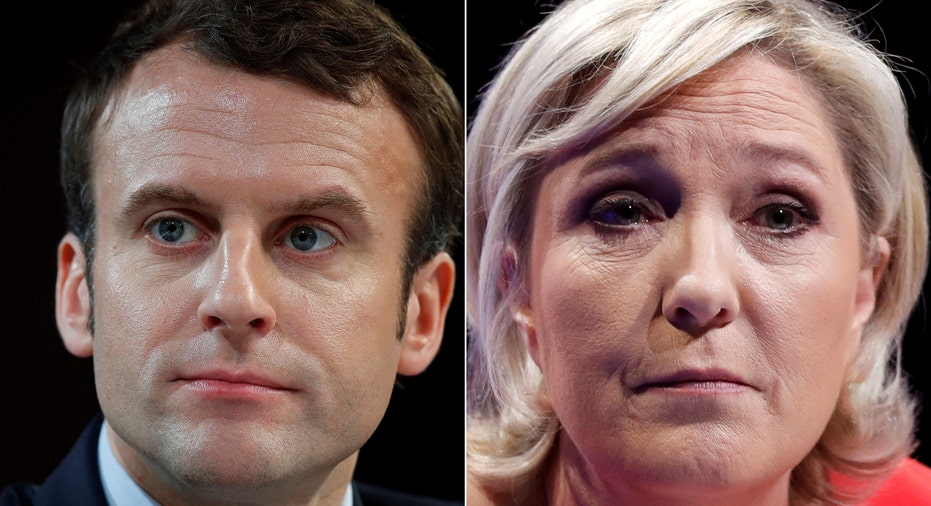 Macron and Le Pen 2017 RTR FBN