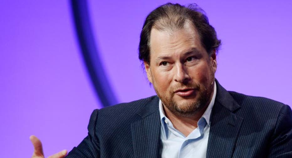 Marc Benioff,  CEO salesforce