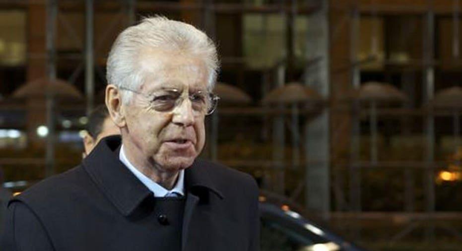 Mario Monti Italian Prime Minister