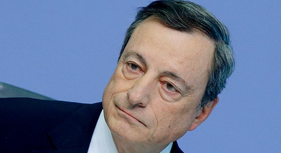Mario Draghi ECB AP FBN