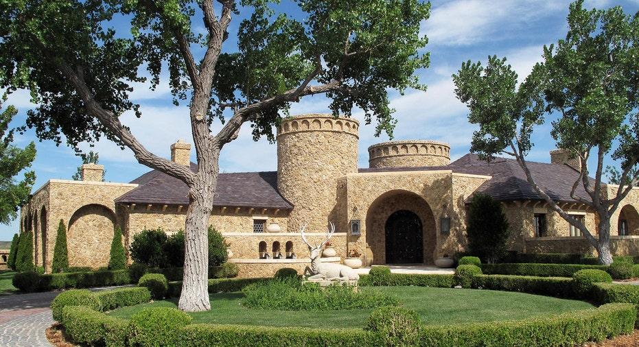 An entrance to the Mesa Vista Ranch