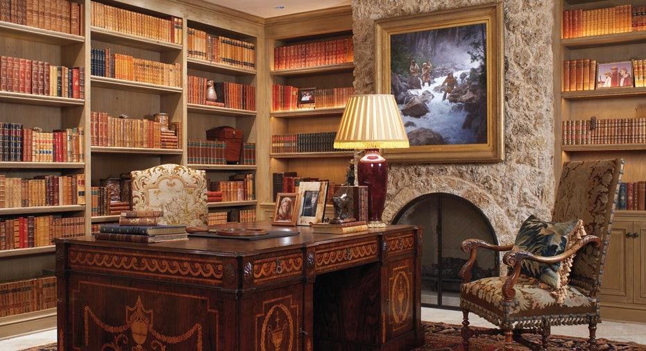 An office at the Mesa Vista Ranch