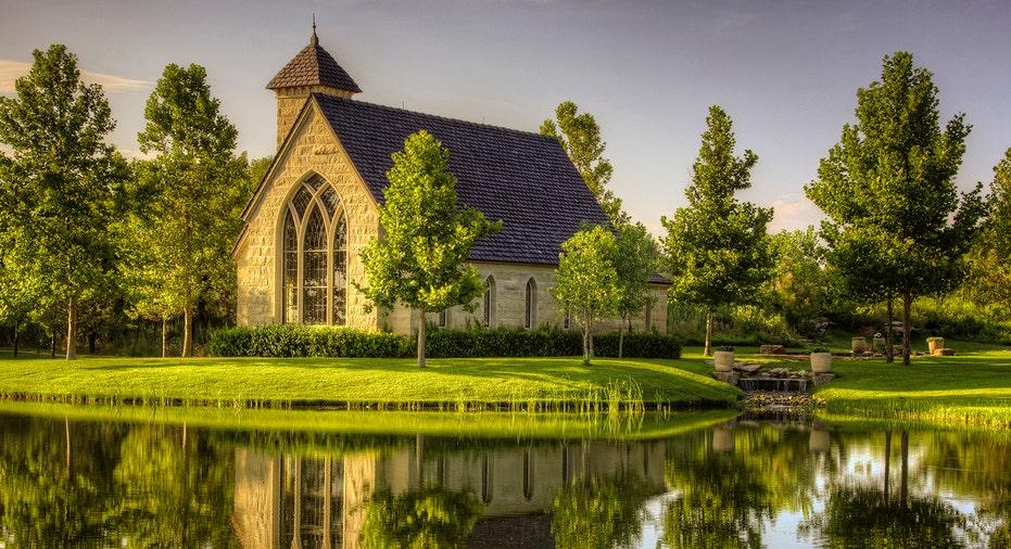 A chapel at the Mesa Vista Ranch