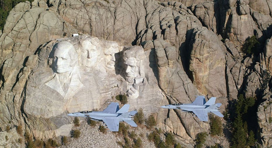 Mount Rushmore, South Dakota, Super Hornets
