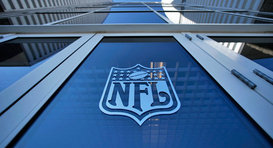 NFL Logo Football Sports Building