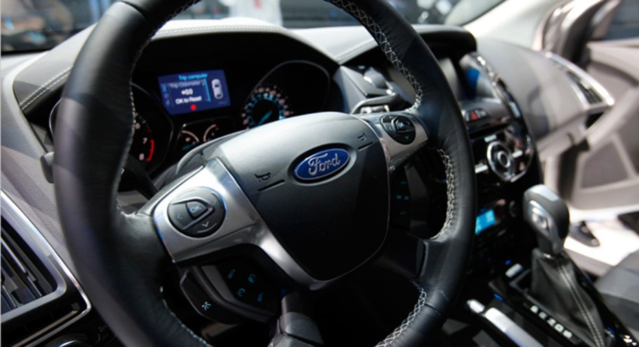 New Ford Focus interior